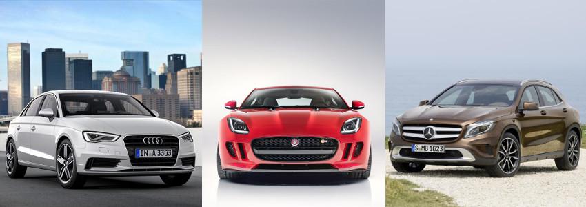 Mercedes GLA, Jaguar F-Type X152, Audi A3 ? co łączy te luksusowe auta?
