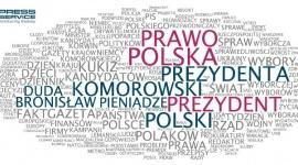"""Media znały zwycięzców wyborów BIZNES, Polityka - """"Na jedynkach"""" to chmura wyrazów najczęściej występujących na pierwszych stronach dzienników ogólnopolskich."""