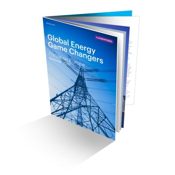 """Global Energy Game Changers – Focus on Europe BIZNES, Prawo - Prawnicy z Globalnej Grupy Energetycznej Dentons opracowali kolejną edycję publikacji """"Global Energy Game Changers"""" - kompendium wiedzy na temat ważnych aspektów dotyczących sektora."""