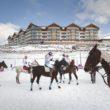 10. edycja zawodów polo na śniegu w Tatrach